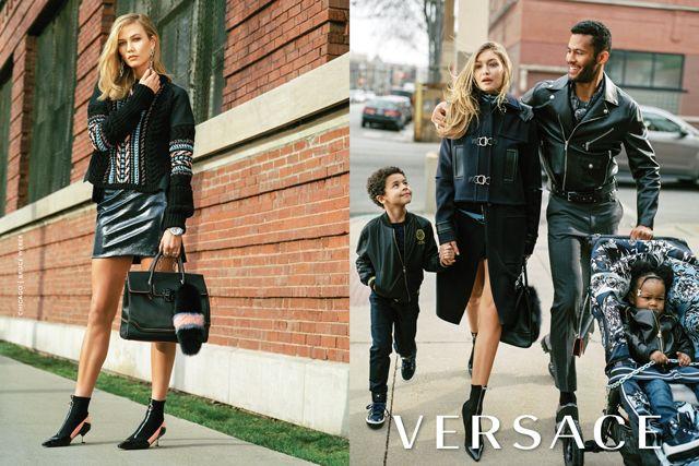 Gigi Hadid for Versace