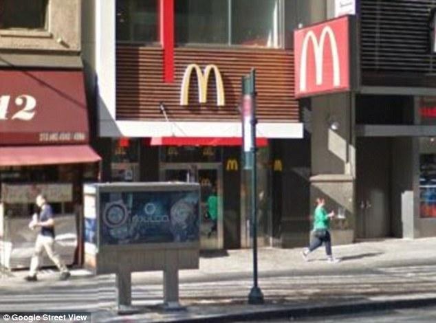 Manhattan McDonald's suicide