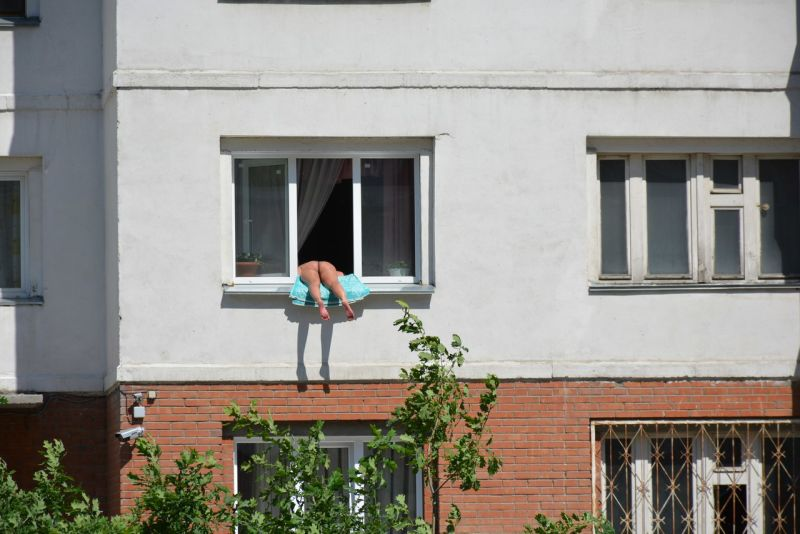 Novosibirsk sunbather