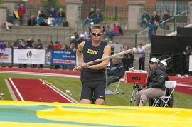 Parker Kennedy Oregon track star impales eye in javelin accident