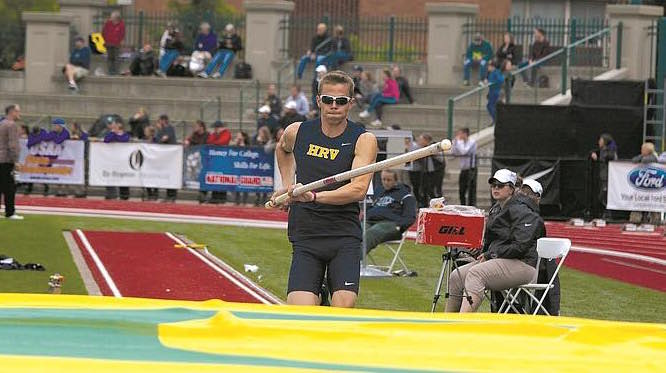 Parker Kennedy Oregon track star impales eye