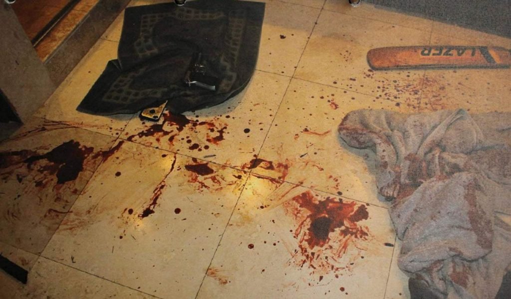 Reeva Steenkamp dead body photos
