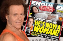 Richard Simmons secret sex change operation: 'My name is now Fiona'
