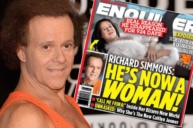 Richard Simmons sex change
