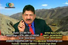 Mir Seddique Mateen TV host: 'I support the Taliban'