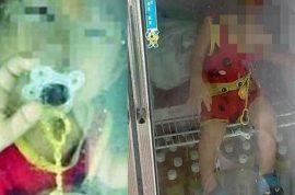 Child abuse? Taiwan dad posts photo of son sitting inside fridge