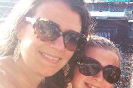 'Dumb bixch' Erica Remkus pees on Christie Brinkley's front lawn