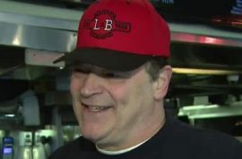 Why was Louis Barbati L&B Spumoni Gardens pizza co owner shot dead?