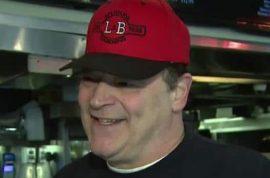 Why was Louis Barbati L&B Spumoni Gardens pizza co owner shot dead?