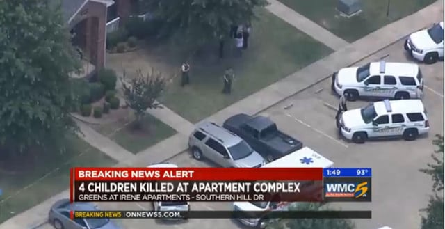 Memphis mother stab four children death