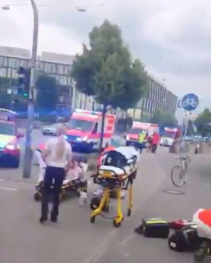 Munich Iranian gunman
