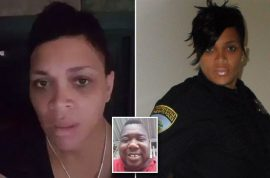 Officer Nakia Jones black female cop: 'You have no business wearing the uniform, take it off'
