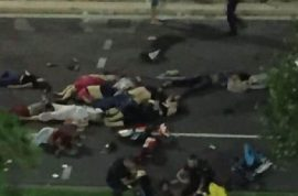 NSFW: Nice Bastille Day terror attack: 77 dead and rising.