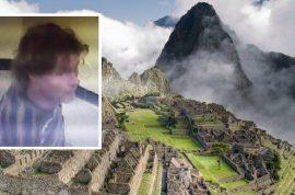 Oliver Paps Machu Pichhu photo faux pas: Idiot German tourist falls to his death
