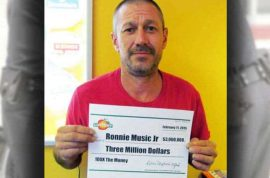 How Ronnie Music Jr $3m lotto winner used his winnings to fund crystal meth drug dealing