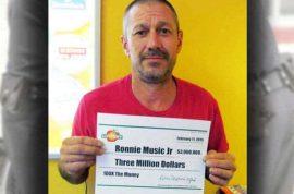 How Ronnie Music Jr $3m lotto winner used his winnings to fund crystal meth drug dealing