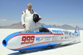 'Unnecessary death? Sam Wheeler dead. Land speed racer crashes trying to beat speed record.