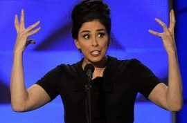 A DNC con game: Sarah Silverman demands Bernie Sanders vote for Hillary Clinton