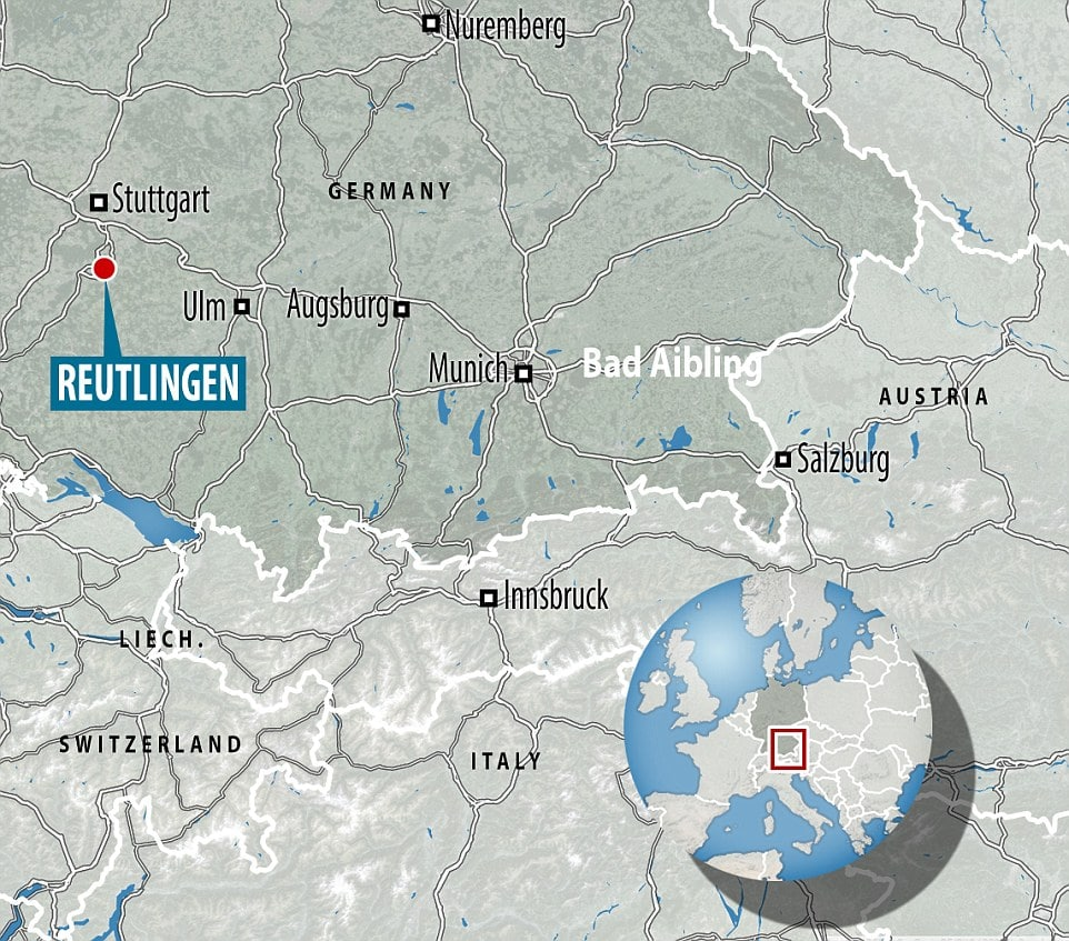 Syrian refugee hacks pregnant German woman