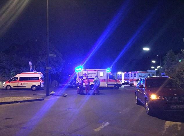 Wurzburg train axe attack