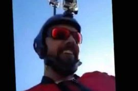 Watch: Armin Schmieder base jumper live streams own death