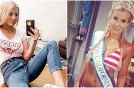 Baylee Curran photos: 'Chris Brown pulled a gun on me'