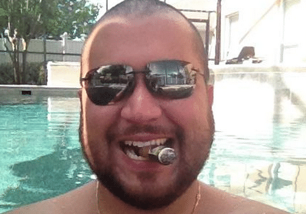 George Zimmerman punched face bragging
