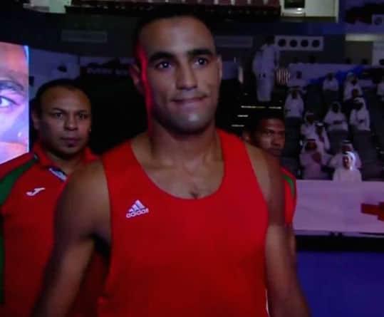 Hassan Saada Moroccan boxer