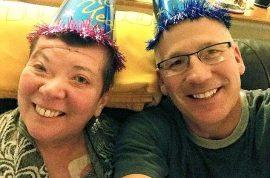 Why? Randy Budd husband of I-80 rock throwing victim shoots self dead