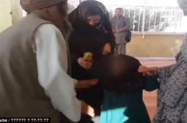 Why? Six year old Afghan girl marries 55 year old man in exchange for goat