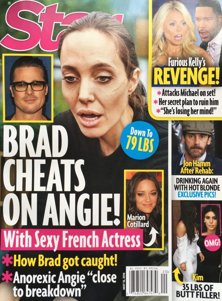 Brad Pitt cheated with Marion Cotillard