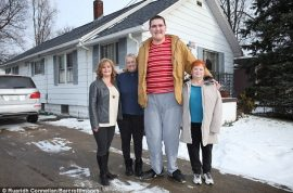 Broc Brown the tallest teen in the world: But at what cost?