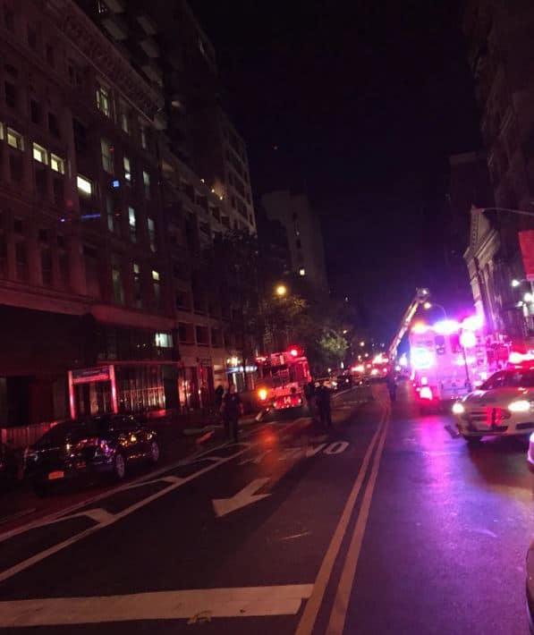Chelsea Manhattan explosion