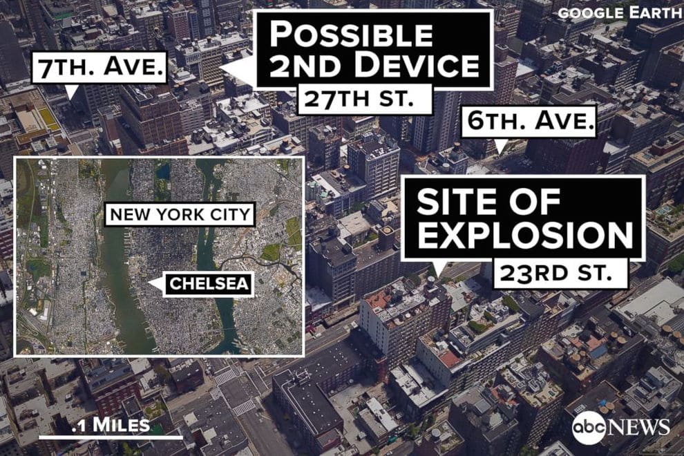 Chelsea bomb Explosion 911 call