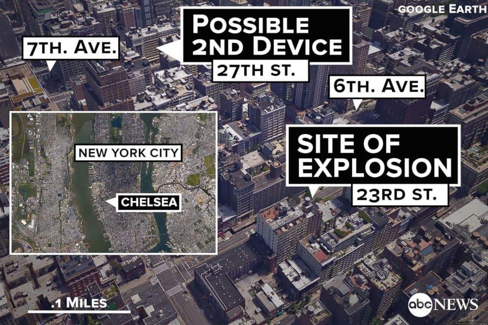 Chelsea bomb Explosion 911 call
