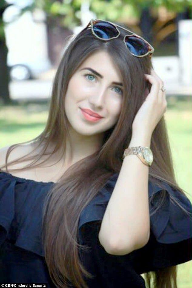 Cinderella Escorts Ariana 20 year old Russian student virginity