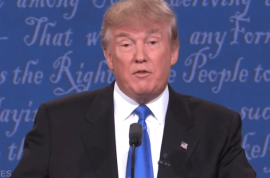Donald Trump debate sniffles sparks cocaine theory