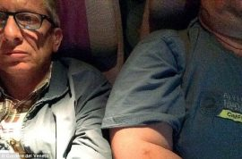 $3079: Giorgio Destro sues Emirates after awful 9 hour flight seated next to obese man