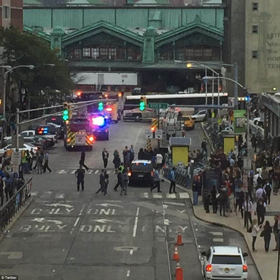 Hoboken train station crash