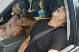 James Acord, Rhonda Pasek heroin overdosed photos: Parents passed out with 4 year old in backseat