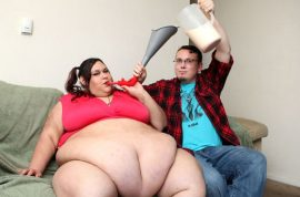 Monica Riley 700 pounds: 'I won't stop eating until I'm the world's fattest woman'