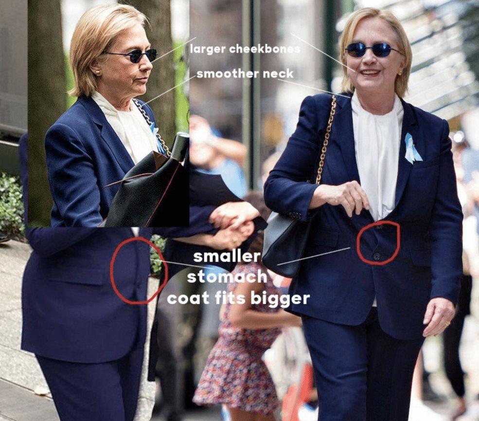 Hillary Clinton body double