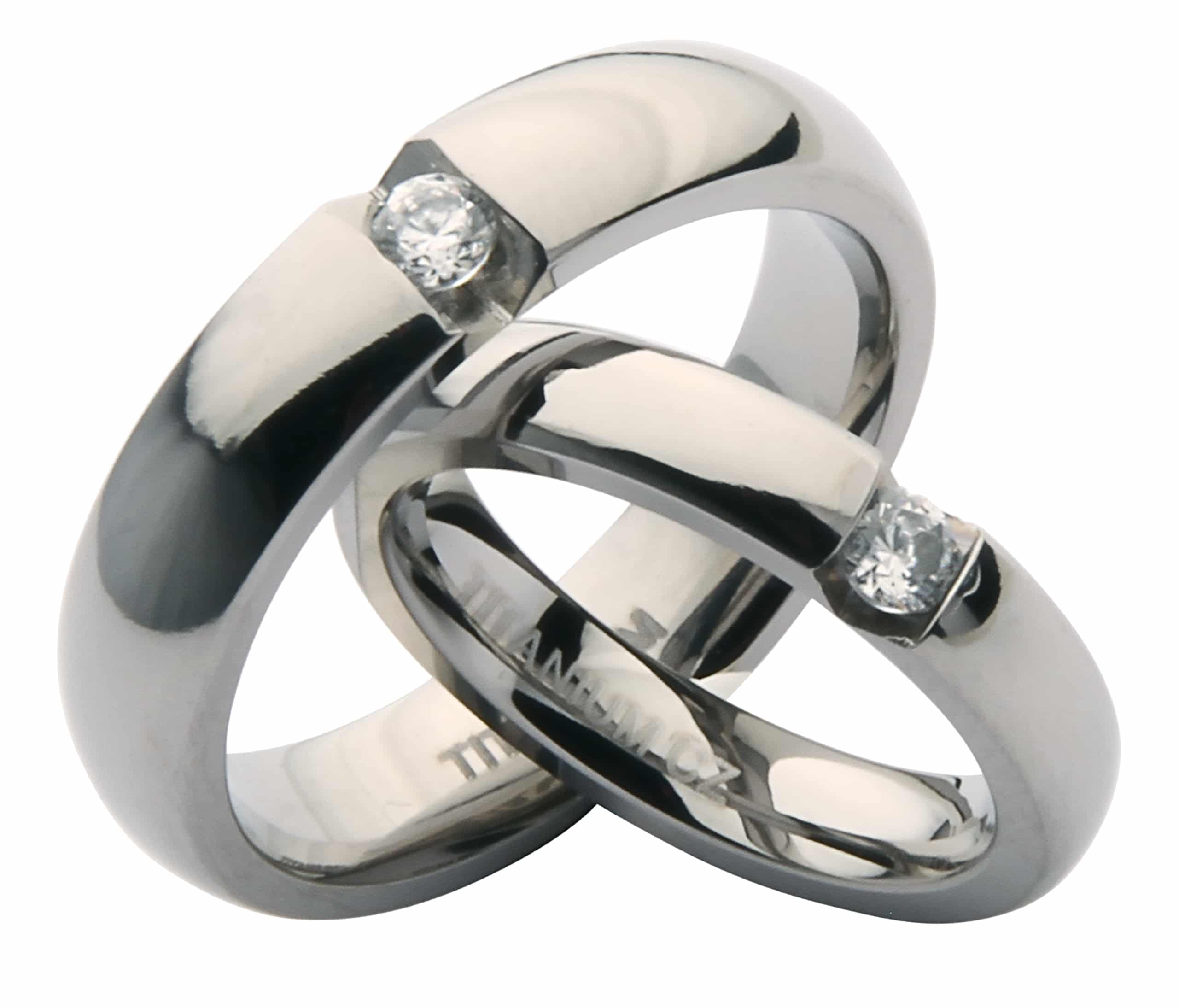 vhis and Hers Engagement Wedding Rings