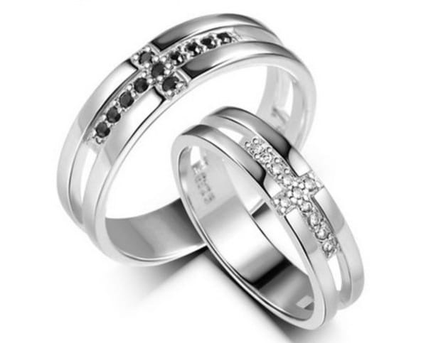 his and Hers Engagement Wedding Rings