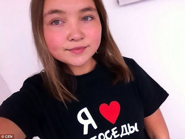12 year old Russian schoolgirl falls to her death