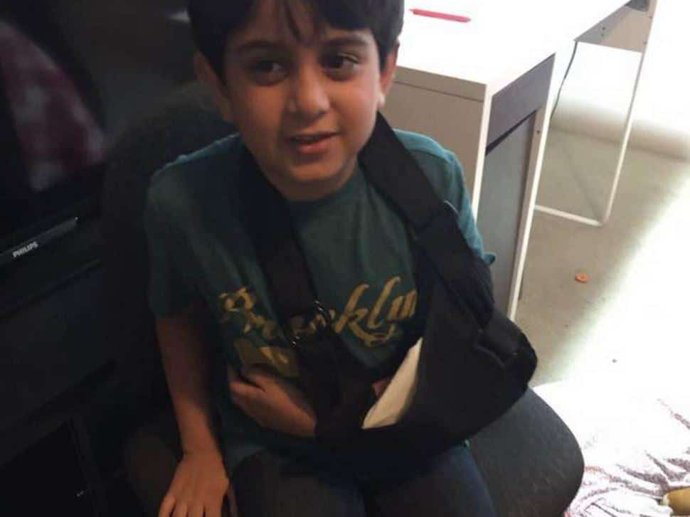 7 year old Pakistani boy beaten for being Muslim