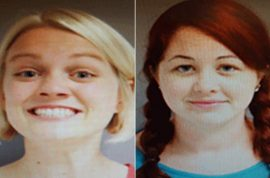 $1500: Abigail Howard and Jennifer Rist, schoolteachers arrested for vandalizing near school
