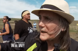 End of first amendment? Amy Goodman Democracy Now journalist faces riot charges over North Dakota Pipeline protest