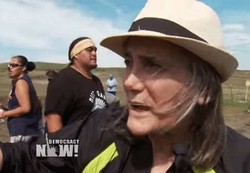 Amy Goodman North Dakota riot charges