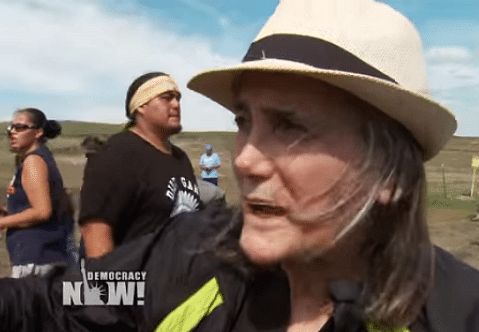 Amy Goodman North Dakota riot charges